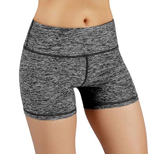 Women Compression Short Yoga Shorts Power Flex Running Fitness Shorts