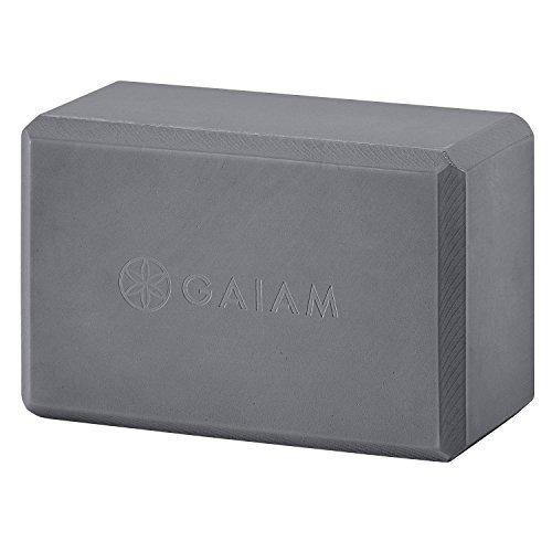Gaiam Premium Solid Longer Wider Yoga Mat Navy Blue 5mm