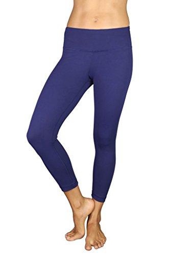 99e6aa514e79f1 Hidden Pocket-Electric Navy-M – 90 Degree By Reflex Yoga Capris – Yoga  Capris for Women