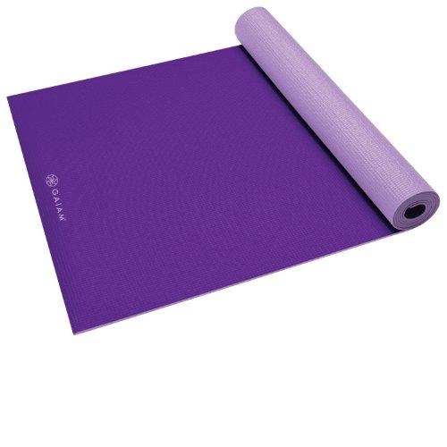 Gaiam Yoga Strap 6 Purple Foldbold