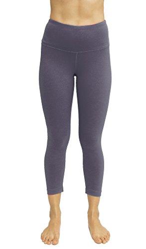 5d2eafe1ce6d2 High Waist Tummy Control Shapewear - Power Flex Capri - Lavender Grey XS - 90  Degree By Reflex