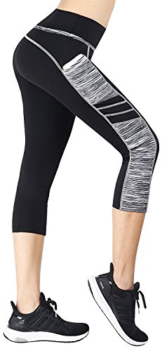34b1704bcb3 EAST HONG Women s Yoga Leggings Exercise Workout Pants Gym Tights L ...