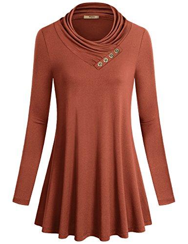 Plus Size Miusey Womens Long Sleeve Christmas Shirt For Leggings