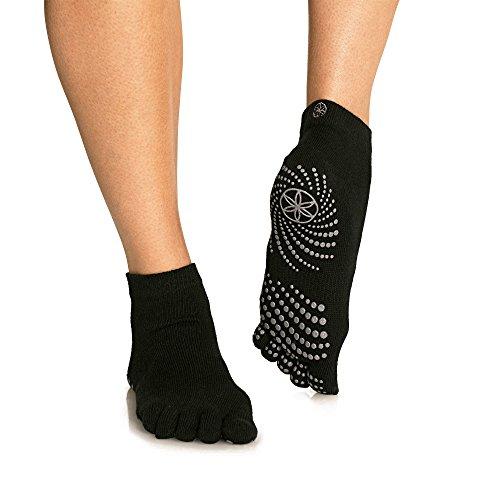 Lotus Yoga Socks Black Non-Slip Blue PVC Dots Women/'s Shoe Size 5-10  Men 4-9