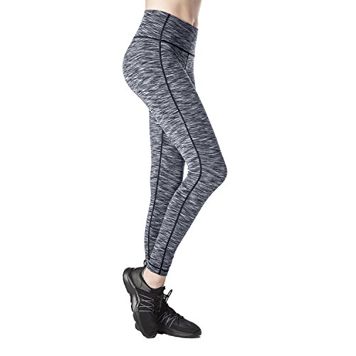 546b9d6ceeb379 ... comfort,good quality and high-tech apparel. 88% static-less and shiny  free polyester, 12% spandex. These high waist leggings are perfect for yoga  ...