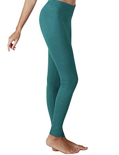 6e4726c658608 YOGARURU Women's Active Yoga Running Pants Workout Leggings With Hidden  Pocket, Jade , XL