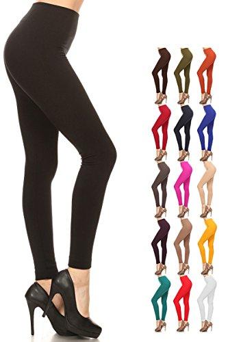 New Women/'s Skull Print Leggings Full Buttery Soft One Size Stretch S-XL D003
