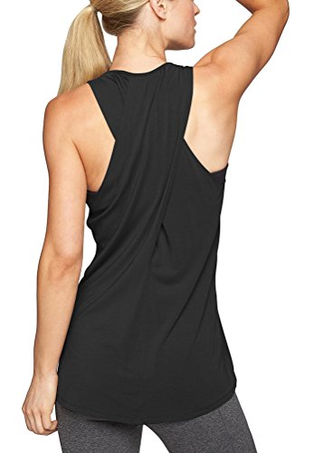 Women Sports Bra Stitching Color Racerback Shirt Running Yoga/' Tank Top Gym FLA