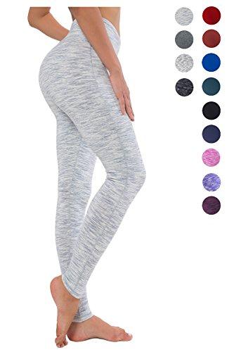 194bf1cd86 All Color Size S Color White Grey Space Dye Long – Queenie Ke Women Power  Flex Yoga Pants Workout Running Leggings