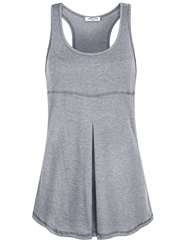 44c0cd50c284 Athletic tank tops /workout shirts/ hides belly / Super soft, Breathable,  Dry Fit/ Not out of shape/ Don't have built bra. Workout tank top is  perfect for ...