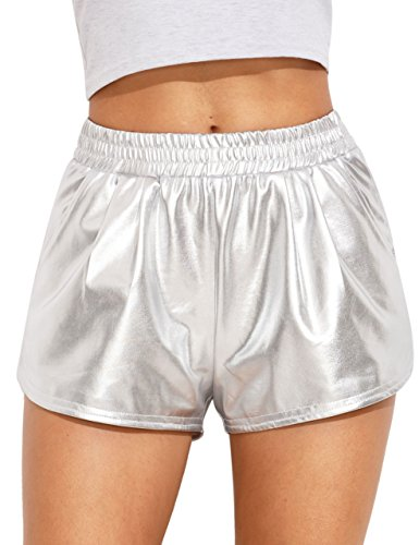 6b453a89f3b SweatyRocks Women Shorts Yoga Shorts Jogger Running Athletic Hot ...