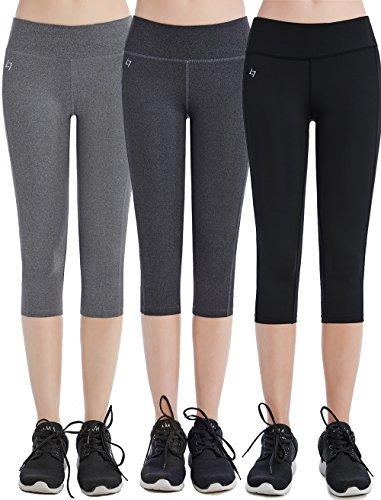 Women Girls High Waist Sweat-Wicking Unicorn Diamond and Cat Sweatpants Yoga Pants Leggings