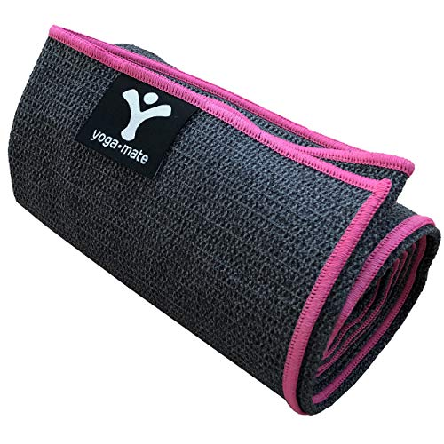 Luxury Sweat Grip Mat Towel: Anti-Slipping, Sweat Absorbent Microfiber Towels With