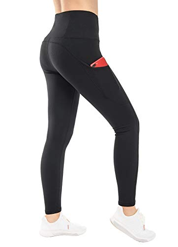Womens Fitness Yoga Pants Ladies GYM Workout Running Leggings Tummy Control