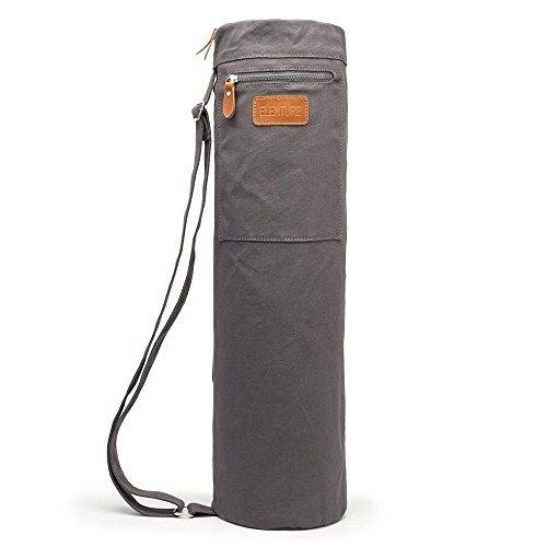 YOTIMO Yoga Mat Bag,Full Zip Exercise Yoga Mat Sling Bag with Multi-Functional Storage Pockets