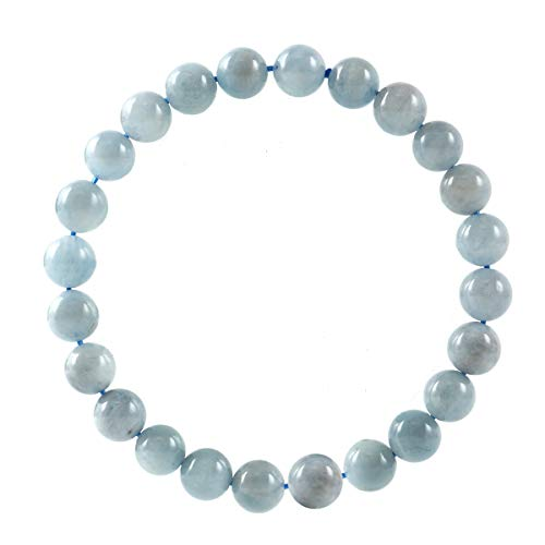 jennysun2010 Natural Blue Spot Jasper Gemstone 4mm Smooth Round Loose 90pcs Beads 1 Strand for Bracelet Necklace Earrings Jewelry Making Crafts Design Healing