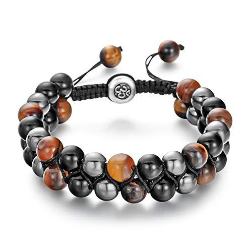 Golden Rutilated Quartz Natural Gemstone Bracelet 6-9/'/' Elasticated Healing