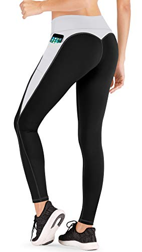IUGA Yoga Shorts for Women Workout Shorts Tummy Control Running Shorts with Side Pockets